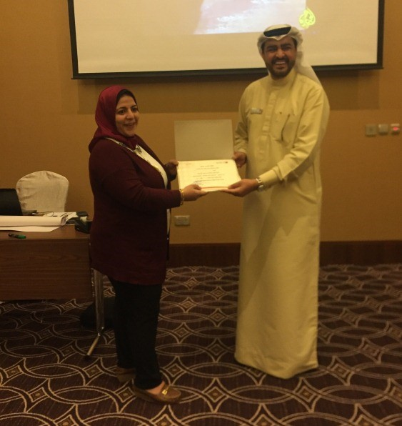 Dubai Courts Honours Dr. Ghada Rashed Abouraya at the