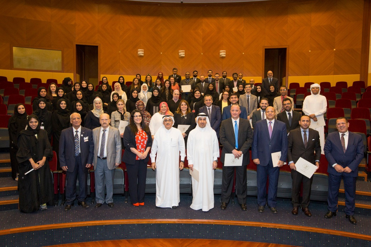 The Government of Dubai Legal Affairs Department honours its employees who submitted innovative suggestions and ideas