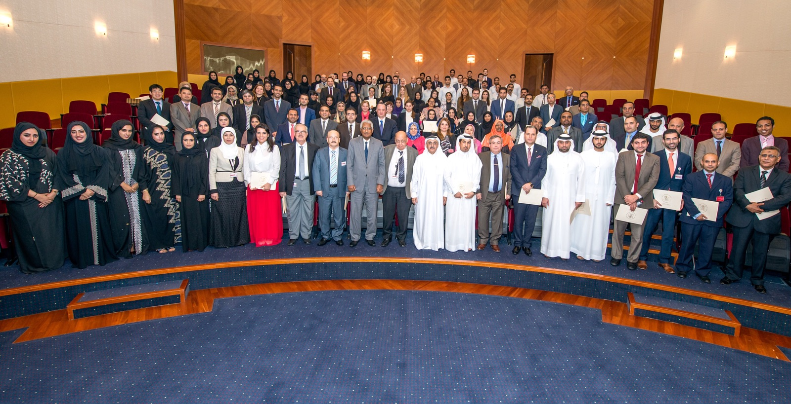 Legal Affairs Department Employees Honoured at Annual Ceremony - Monday 18/01/2016