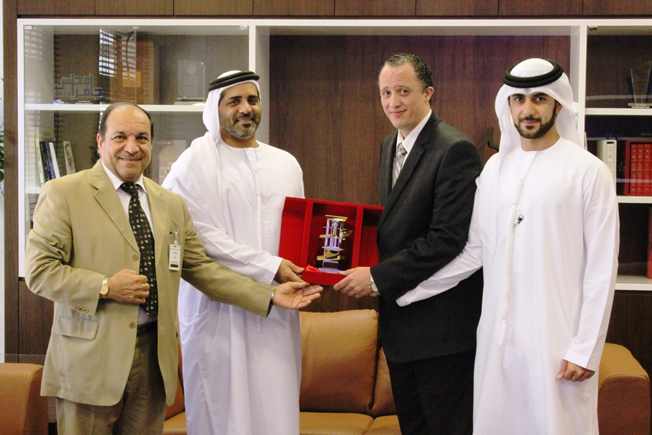 The Legal Affairs Directorate within RTA honors Mr. Ahmed Ezzat- Legal Counsel in Government Disputes & Claims Directorate at The Government of Dubai Legal Affairs Department – Thursday 30/10/2014.