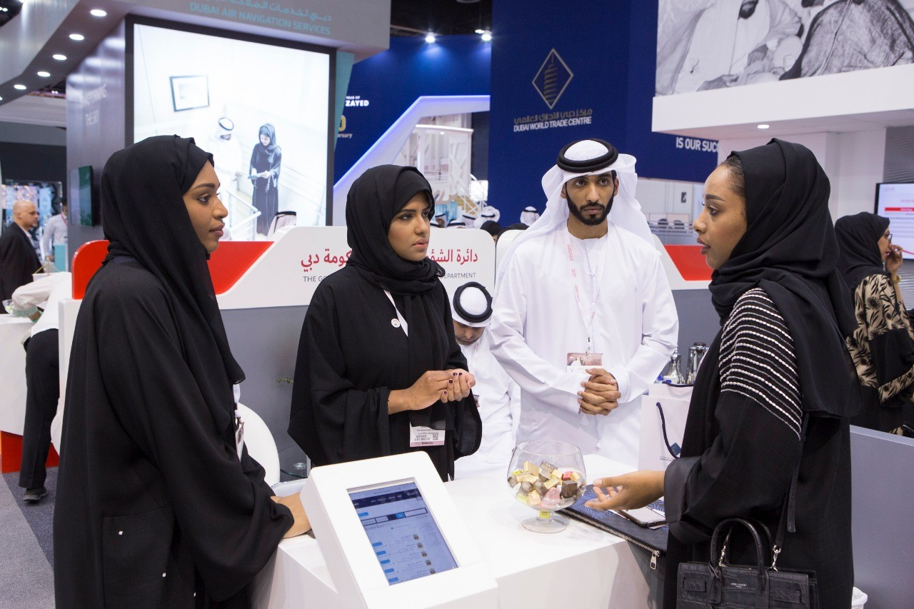 "The Government of Dubai Legal Affairs Department participates in ""Careers UAE 2018"""