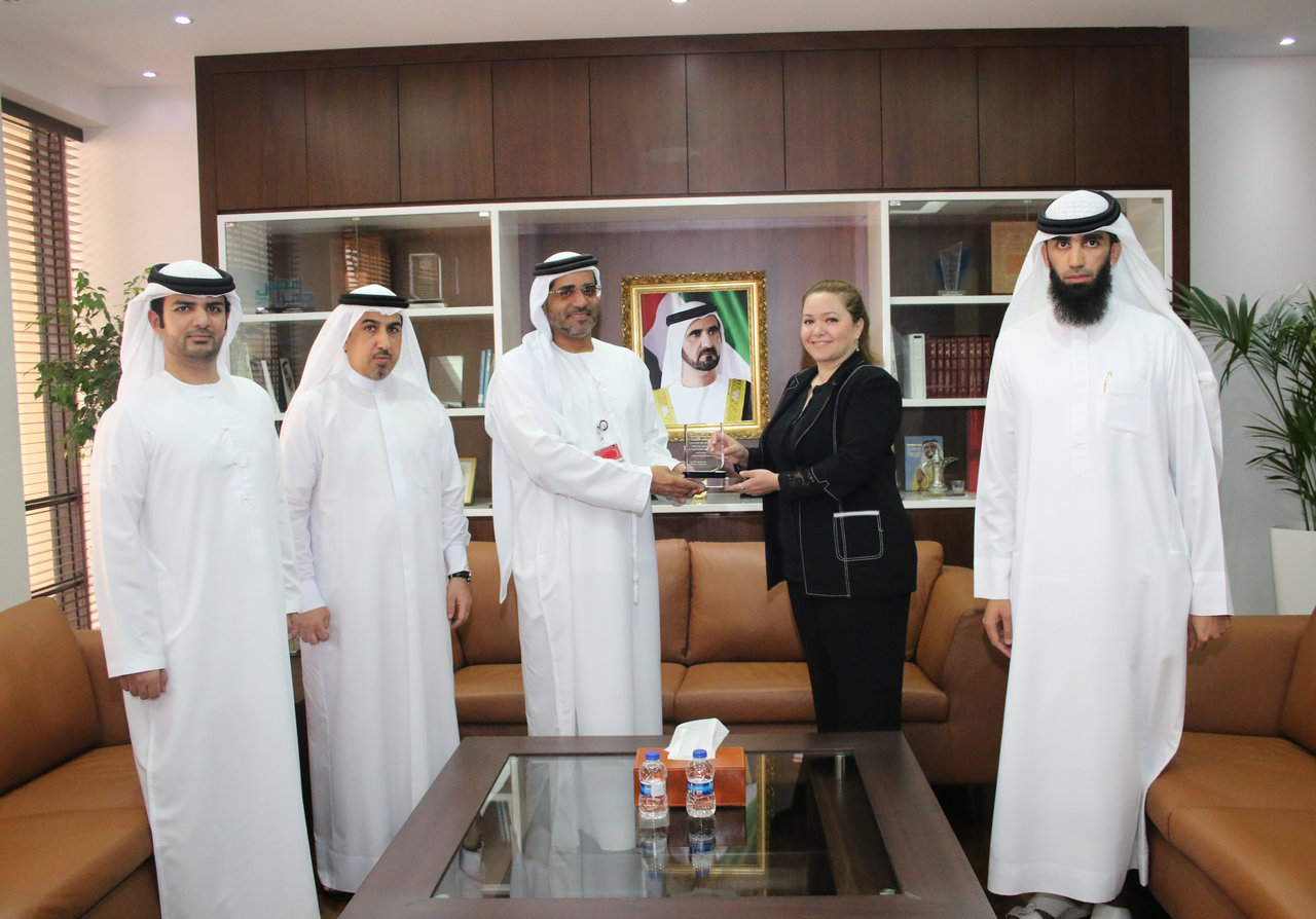 The Legal Affairs Directorate within RTA honors Ms. Gemma Reem Nemer – Legal Advisor - at the Government of Dubai Legal Affairs Department - Tuesday 15/03/2016