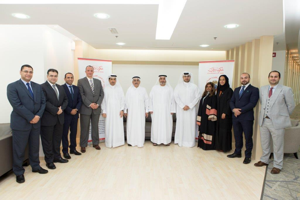 Legal Affairs Department Receives a Delegation from Emirates Association for Lawyers and Legal Consultants