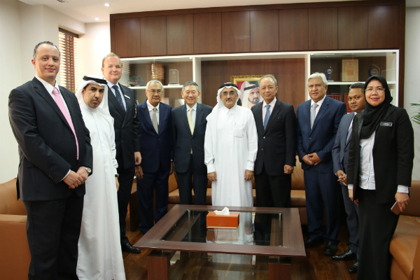 The Government of Dubai Legal Affairs Department receives Malaysian Judicial Delegation