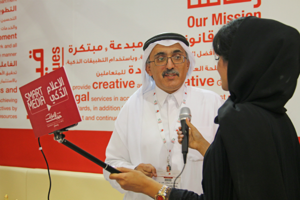 Legal Affairs Department Showcases Smart Services and Initiatives at Dubai International Government Achievements Exhibition