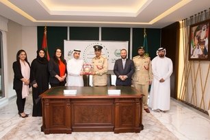 "Dubai Police signs MoC with Legal Affairs Department to provide the Department's Employees with the ""ESAAD"" Card"