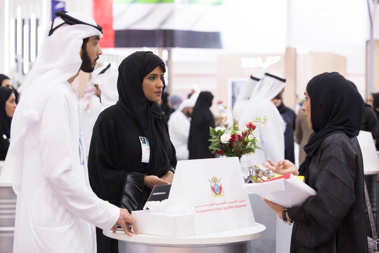 "The Government of Dubai Legal Affairs Department Showcases its Career Opportunities at ""Careers UAE 2019"""