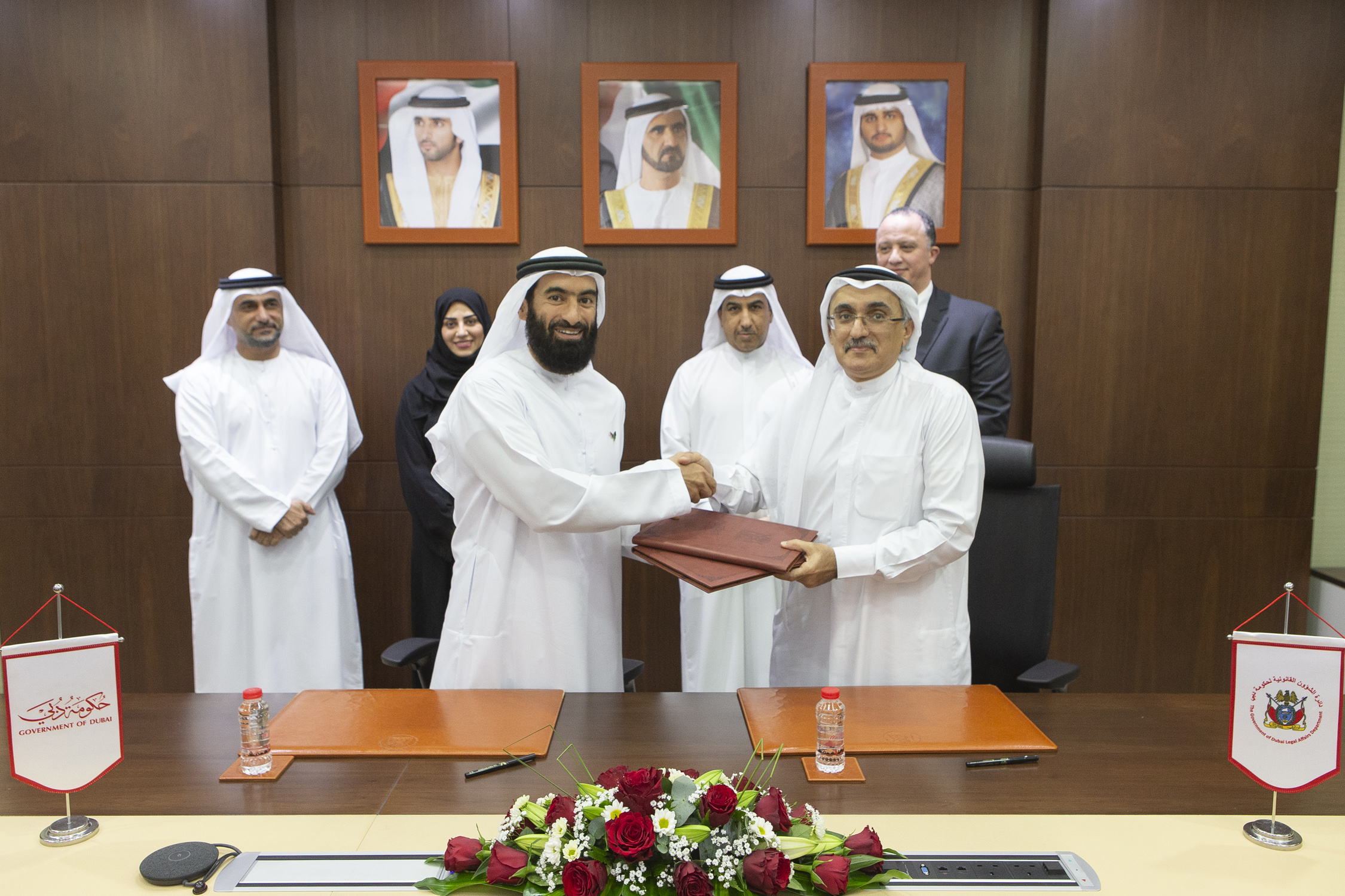"MoU regarding ""Legal Professional Diploma"" signed between Legal Affairs Department and DGHR Department"
