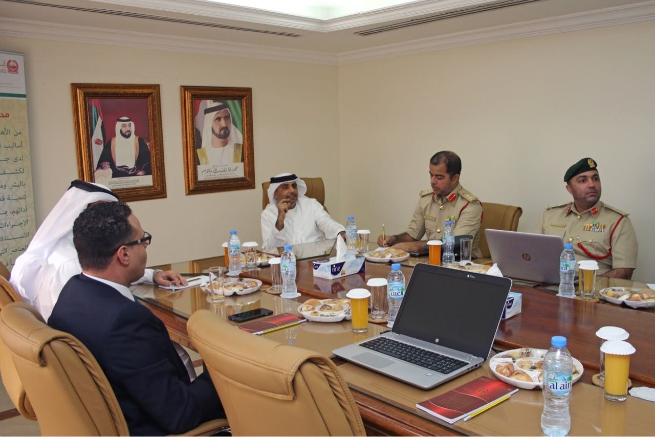 "Legal Affairs Department briefs Dubai Police on ""Government Entities Portal"""