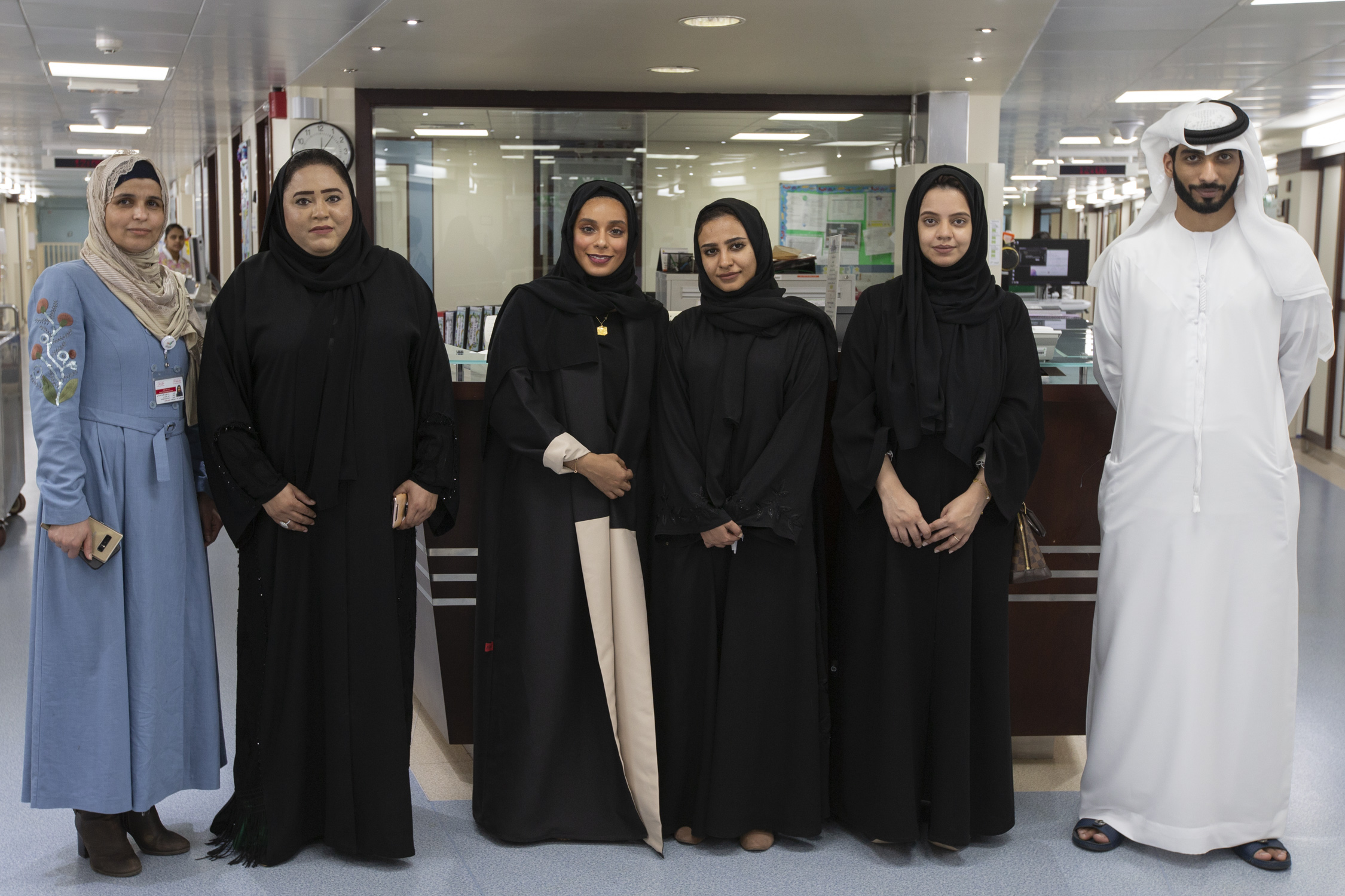 The Government of Dubai Legal Affairs Department Visit Child Cancer Patients at Dubai Hospital
