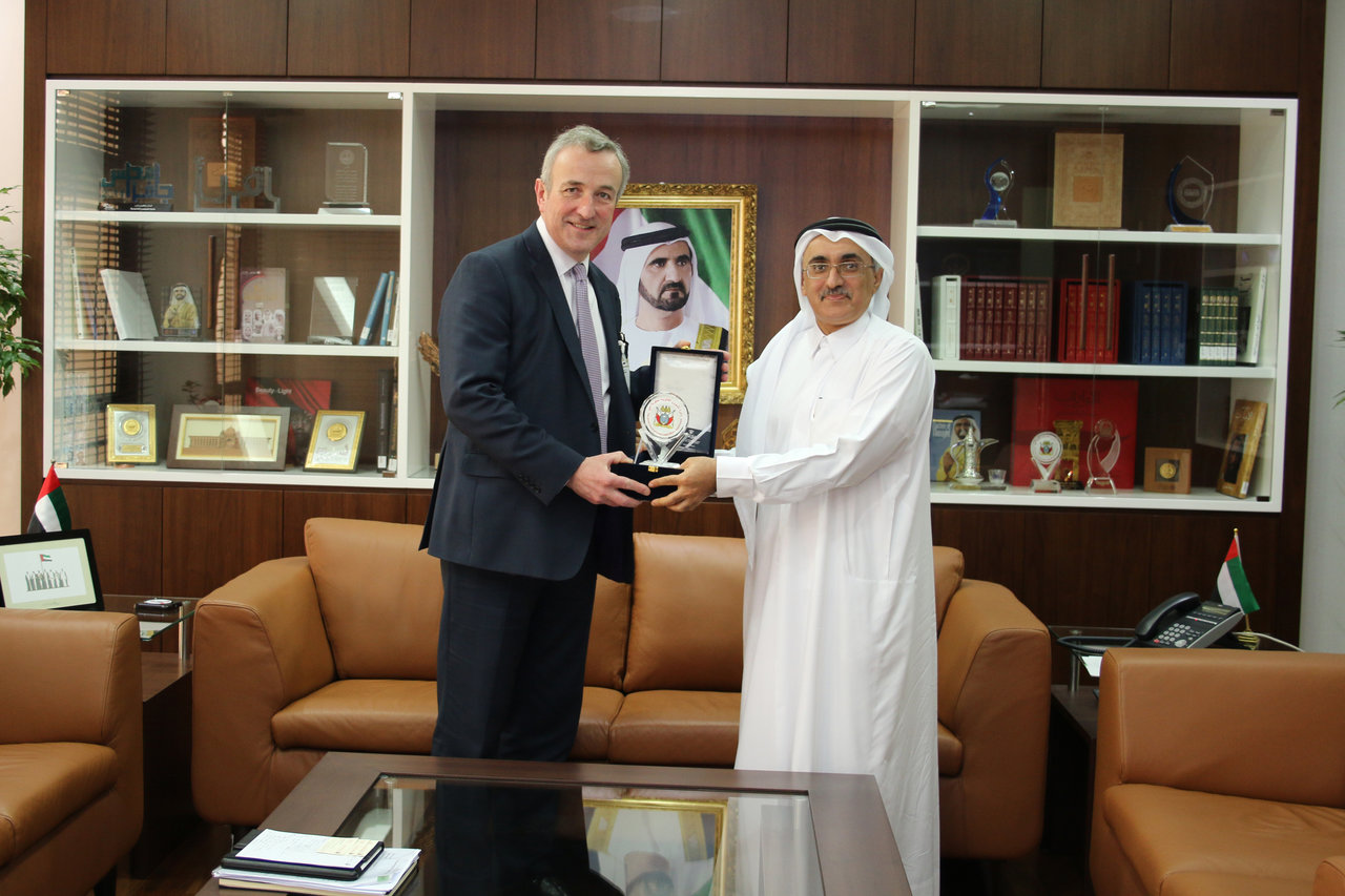 Director General of the Legal Affairs Department receives President of the Law Society of England and Wales