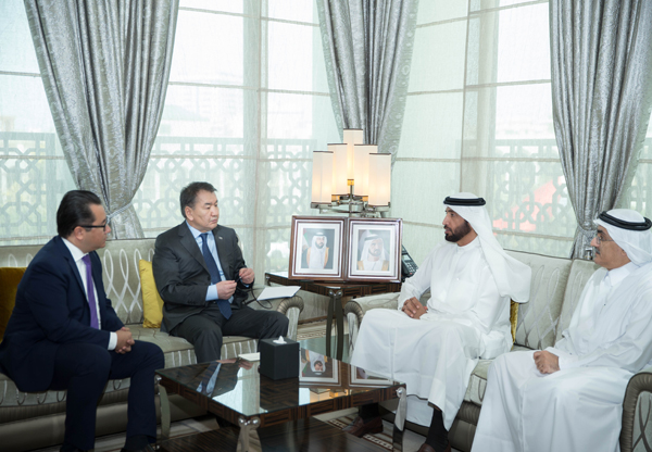 The Government of Dubai Legal Affairs Department welcomes a delegation of the Kazakhstan Judiciary