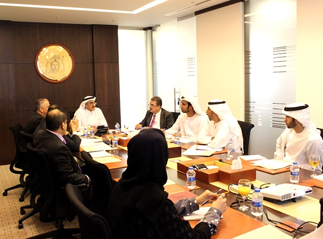 Delegation from the General Secretariat of the Executive Council of Abu Dhabi Visits the Government of Dubai Legal Affairs Department