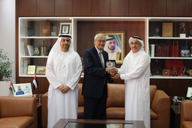 Legal Affairs Department and DIFC Courts Discuss Ways to Enhance Cooperation