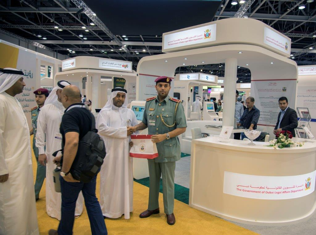 Legal Affairs Department launches new smart services in GITEX Technology 2015