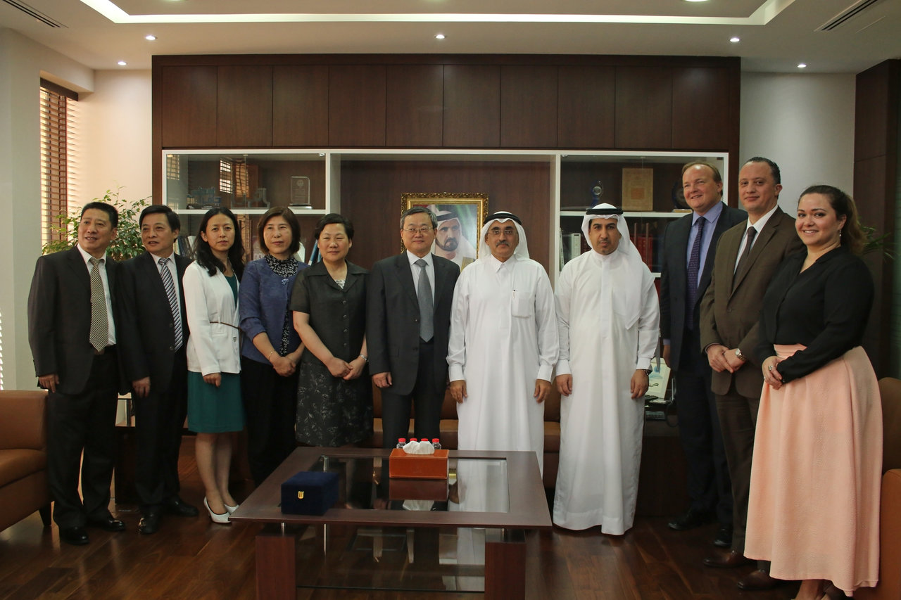 Legal Affairs Department Receives a Delegation from Shanghai Courts